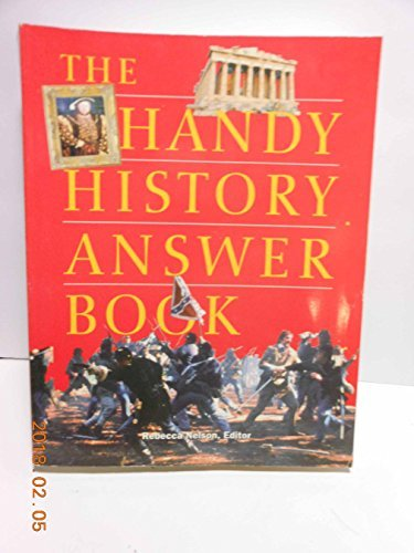 Primary image for The Handy History Answer Book Rebecca Nelson