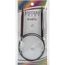 "Knitter's Pride KP200274 10.75/7mm Dreamz Fixed Circular Needles, 32"" - $8.55"