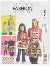 McCall's Patterns M5720 Misses'/Children's/Girls' Aprons, All Sizes - $14.21