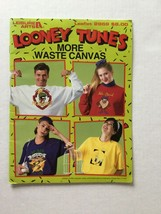 Looney Tunes More Waste Canvas Counted Cross Stitch Leisure Arts  - $4.94