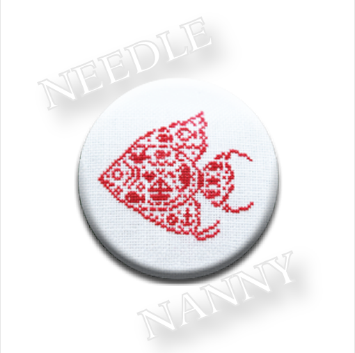 Angel Fish Needle Nanny cross stitch JBW Designs