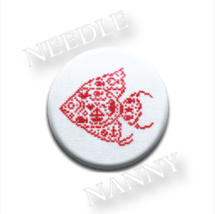 Angel Fish Needle Nanny cross stitch JBW Designs   - $12.00