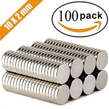 FINDMAG 100Pieces 10X2mm Premium Brushed Nickel Pawn Style Magnetic Push... - $27.89