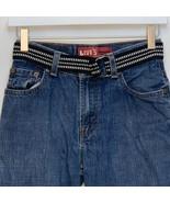 Levi's 550 Girls Slim Fit Blue Jeans Size 14 - $28.68