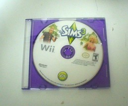 The Sims 3 (Nintendo Wii, 2010) DISC in Thinline Case, TESTED - $9.78