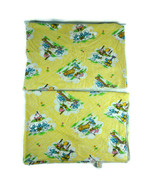 (2) Vintage Dundee Winnie The Pooh Baby Infant Swaddle Receiving Blankets - $17.73