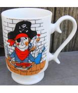 The Pirate's House Restaurant Savannah Georgia Ceramic Footed Mug Cup - $24.99