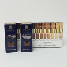 2 Estee Lauder Double Wear 7W1 Deep Spice Makeup Foundation .24 Oz Each - $11.61