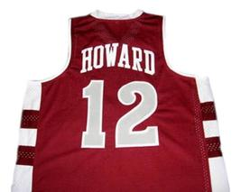 Dwight Howard #12 Saca High School Men Basketball Jersey Maroon Any Size image 2