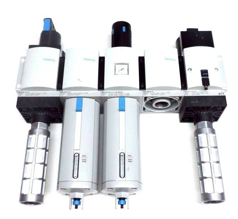 FESTO MS9-EM-G-S-VS , MS9-LWS-G-U-V , MS9-LFR-G-D7-CUV-AG-BAR-AS , MS9-FRM-G-VS