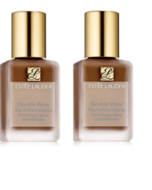 2 x New Estee Lauder Double Wear *DEEP SPICE* Stay-In-Place Makeup Found... - $41.58
