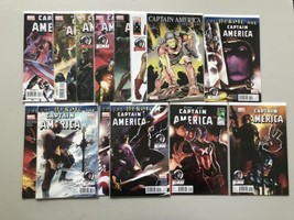 Lot of 14 Captain America (2004 5th Series) #600-612 - $34.65
