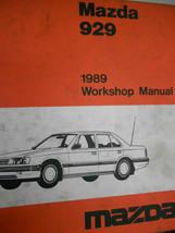 1989 Mazda 929 Service Shop Reparatur Manuell Set Fabrik OEM Selten How ... - $18.13