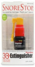 Snore Stop 30 Extinguisher Fast Acting Throat Spray  - $8.95