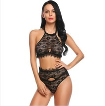 Sexy Underwear Lingerie Set Women Lace Bra and Pantie Thong Costume Exot... - $14.00