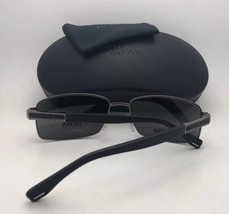 Polarized HUGO BOSS Sunglasses 0579/P/S 2MTWJ Ruthenium & Black w/ Grey Gradient