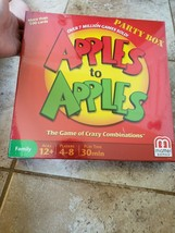NIP NEW Still Sealed Mattel Apples to Apples Party Box Board Game - $11.39