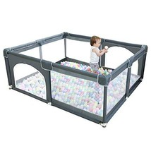 Baby Playpen for Toddler - wuyule Portable Baby Fence Play Area Extra La... - $235.99