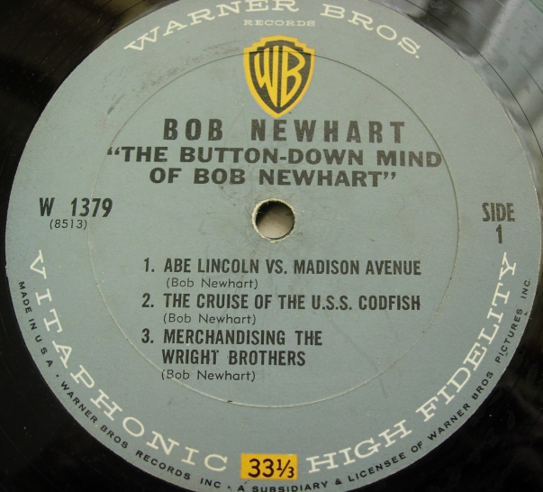 The Button-Down Mind of BOB NEWHART - Warner Bros. 1379