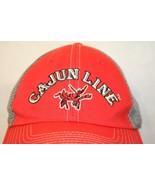 Corpro Cajun Line Red Cast Gray Mesh Lobster Trucker Dad Cap Fishing Tac... - $74.95