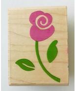"Whimsical Rose Stem Rubber Stampede Stamp A2232D 2 x 1-3/8"" - $5.94"