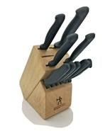 Henckels International Knife Block Ever Edge and Victorinox Steak Knives... - $24.95