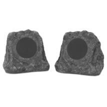 Innovative Technology Premium 5-Watt Bluetooth Outdoor Rock Speakers wit... - $106.84 CAD