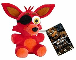 "Funko Five Nights at Freddy's 6"" Red Foxy Plush-FNF 6"" Foxy Plush-Brand ... - $59.39"