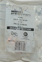 Nibco Press System PC601 Coupling Without Stop 1 and Quarter Inch 90520550PC image 1
