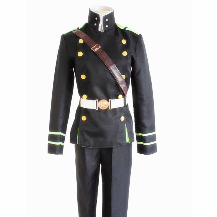 Anime Seraph of the end Yuichiro Hyakuya  team uniform Cosplay Costume