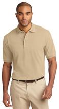 Port Authority K420 Men's Sort Sleeve Polo Shirt - Stone - $17.98+
