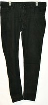 Blue Asphalt Women's Black Denim Skinny Jeans Size 13R