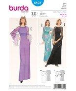 Burda Vintage Style Dress Sewing Pattern 6892 - $13.23