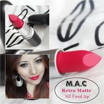"New In Box Mac ""All Fired Up"" Retro Matte Lipstick - $20.05"