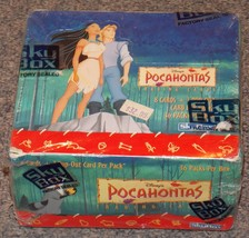 1995 Skybox Disney Pocahontas New Factory Sealed Full Box Of 36 Packs of... - $49.99