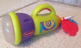 Playskool Busy Glow Flashlight - Twinkling Lights & Fireflies, Teether Toy - $6.18