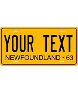 Newfoundland 1963 Tag License Plate Personalized Auto Bike Motorcycle Moped - $10.99+