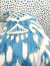 Greendale Home Fashions AZ5811S2-SEASIDE Aqua Outdoor Rectangle Throw Pillow  image 6