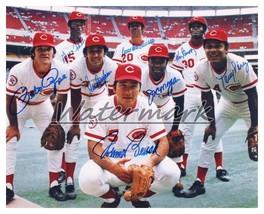 MLB 1970's Big Red Machine Starting 8 Rose Bench REPRINT Autograph 8 X 1... - $5.63