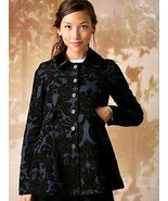 NEW Free People Newsroom Jacquard Coat Jacket 4... - $99.99