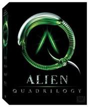 Alien: Quadrilogy 9 disc (Alien / Aliens / Alien 3 / Alien Resurrection)  [DVD]