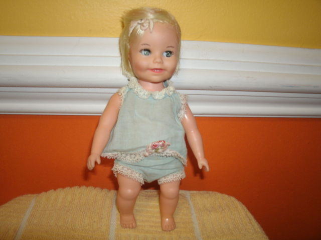 """1964 Suzy Cute 7"""" Doll By Deluxe Reading Corp Came From Late Grandmas Estate"""