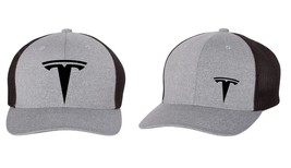 TESLA MOTOR MODEL 3 MODEL S Trucker Cap FLEXFIT HAT *FREE SHIPPING in BOX* - $19.99