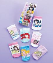 DISNEY - 7-Pair Girls' Disney Princess Sock Set - Size: 4-6 - $13.86