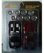 ZIP ZAPS 1963/2003 Chevy CORVETTE micro radio control body kit RC car NIB - $7.00