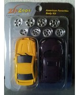 ZIP ZAPS Ford MUSTANG COBRA Chrysler PT CRUISER micro body kit RC car NIB - $7.00