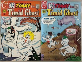 TIMMY THE TIMID GHOST lot of (2) issues #10 & #13 (1969) Charlton Comics... - $9.89