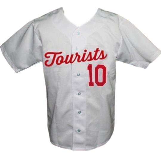 Asheville tourists retro baseball jersey button down white   1