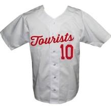 Asheville Tourists Retro Baseball Jersey Button Down White Any Size image 1