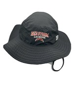 St Johns Red Storm Lacrosse Black Bucket Hat The Game Drawcord One Size ... - $29.99